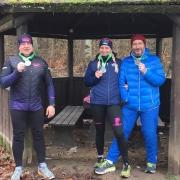v.l.n.r.: Mathias Horn, Anja Schweizer und Gunter Schimpf